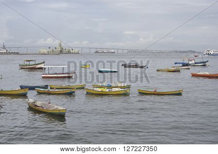 Guanabara Bay In Rio De Janeiro, Brazil.