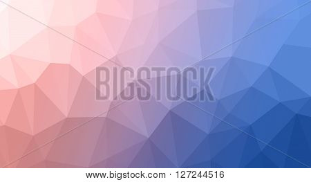 Abstract Trianglify Background