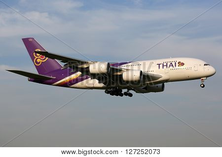 Thai Airways Airbus A380 Airplane