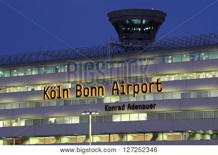 Terminal 1 Cologne Bonn Airport Köln With Tower