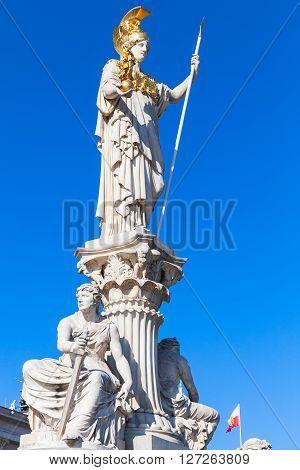 Pallas Athene Fountain, Austrian Parliament
