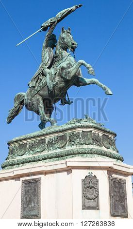Statue Of Archduke Charles In Vienna