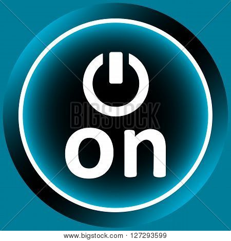 Icon with the graphic button of inclusion
