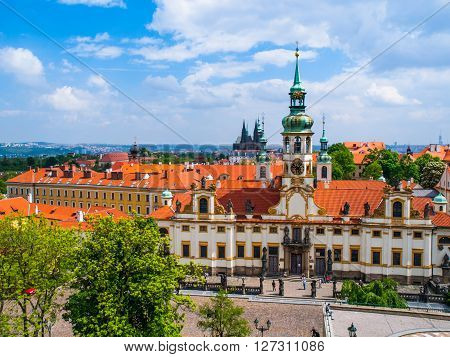 Loreta, or Loreto, pilgrimage destination near in Hradcany near Prague Castle, Prague, Czech Republic