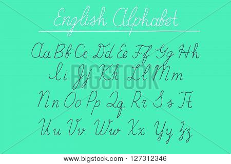 Alphabet Letters Uppercase, Lowercase.
