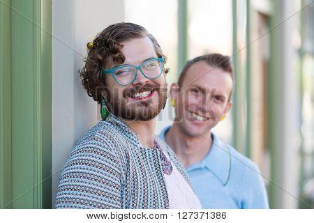 Two Gender Fluid Young Men