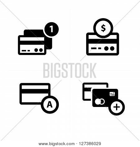 credit card with bubble icon vector design support eps10.