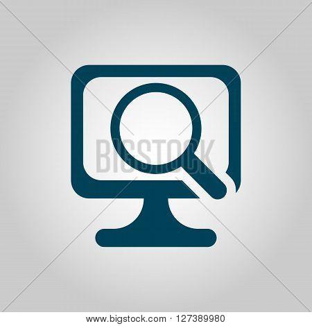 Computer Scan Icon In Vector Format. Premium Quality Computer Scan Symbol. Web Graphic Computer Scan