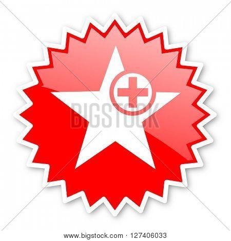 star red tag, sticker, label, star, stamp, banner, advertising, badge, emblem, web icon