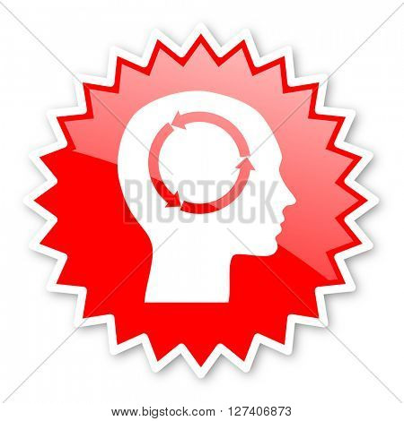 head red tag, sticker, label, star, stamp, banner, advertising, badge, emblem, web icon