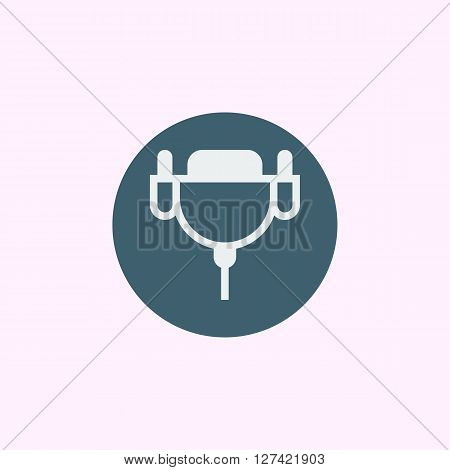 Dvi Cable Icon In Vector Format. Premium Quality Dvi Cable Symbol. Web Graphic Dvi Cable Sign On Blu