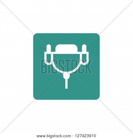 Dvi Cable Icon In Vector Format. Premium Quality Dvi Cable Symbol. Web Graphic Dvi Cable Sign On Gre