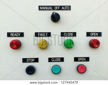 Control Panel Lamp