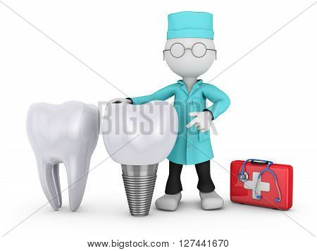 Dentist And Implant