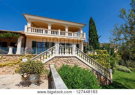 Spanich real estate of Mediterranean seashore Mallorca