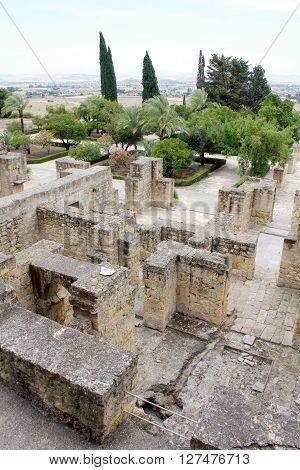 Overview of Madinat al-Zahra in Cordoba - Spain