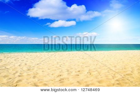 sand and ocean