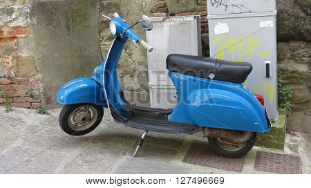 Italian Vespa Scooter