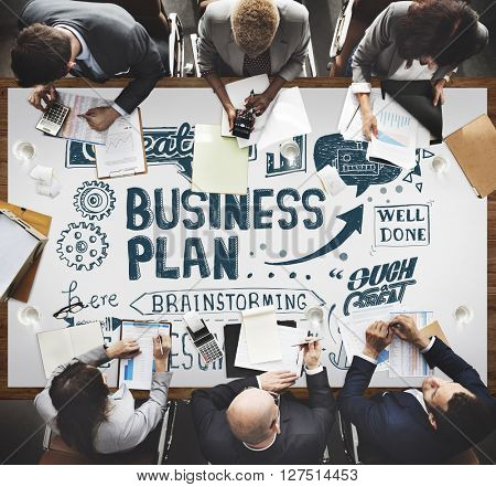Business Plan Operation Strategy Vision Concept