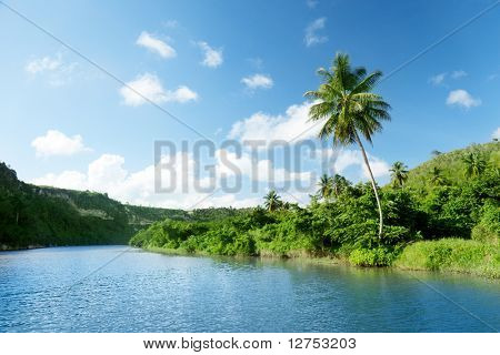 river in Dominican