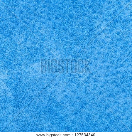 natural square background from genuine leather - blue painted Pigskin