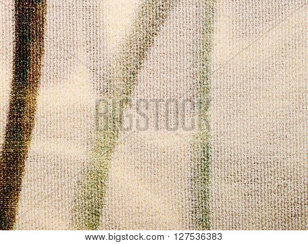 Textile - Transparent Light Brown Silk Fabric