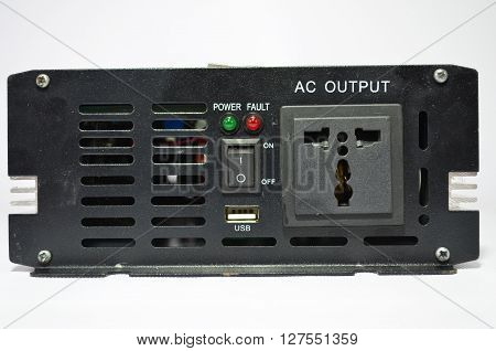 Inverter,Batch convert direct current into alternating current.
