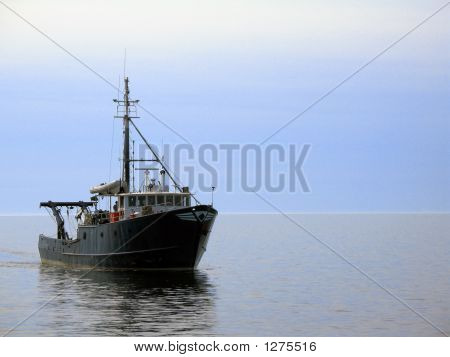 Ship In Calm Waters