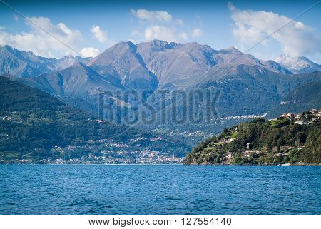 a small Italian town near Lake Como