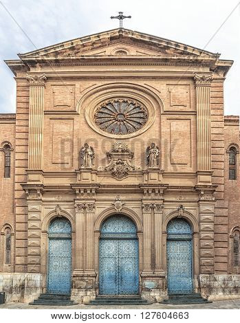 Church Of The Sacred Heart Of Jesus, Valencia. Spain