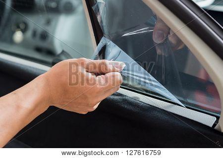 Car window tinting series : Removing window tinting