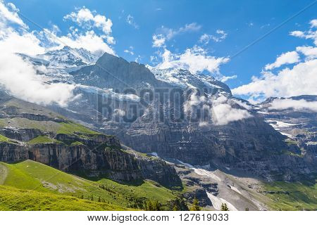 Under The Feet Of Jungfrau North Face