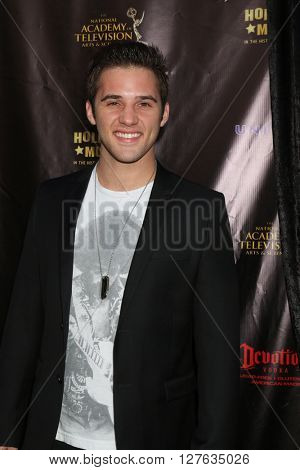 LOS ANGELES - APR 27:  Casey Moss at the 2016 Daytime EMMY Awards Nominees Reception at the Hollywood Museum on April 27, 2016 in Los Angeles, CA