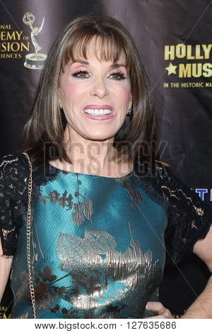 LOS ANGELES - APR 27:  Kate Linder at the 2016 Daytime EMMY Awards Nominees Reception at the Hollywood Museum on April 27, 2016 in Los Angeles, CA