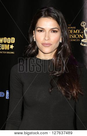 LOS ANGELES - APR 27:  Sofia Pernas at the 2016 Daytime EMMY Awards Nominees Reception at the Hollywood Museum on April 27, 2016 in Los Angeles, CA
