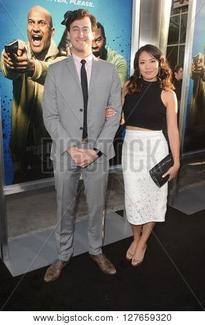 LOS ANGELES - APR 21:  Emily Chang, Alexander Rubens at the Keanu Los Angeles Premiere at the ArcLight Hollywood Theaters on April 21, 2016 in Los Angeles, CA