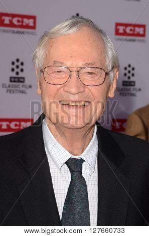 LOS ANGELES - APR 28:  Roger Corman at the TCM Classic Film Festival Opening Night Red Carpet at the TCL Chinese Theater IMAX on April 28, 2016 in Los Angeles, CA