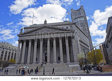 Street View On  New York Supreme Court