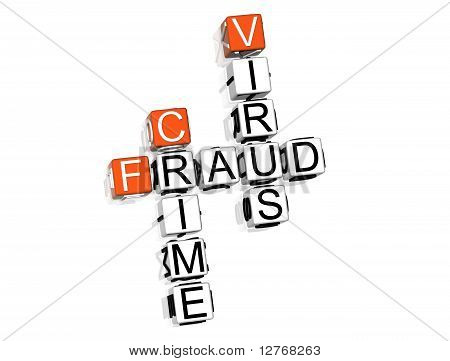 Fraud Virus Crime Crossword