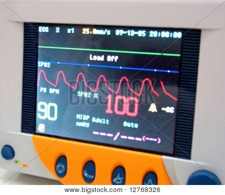 pulse oximeter (monitor)