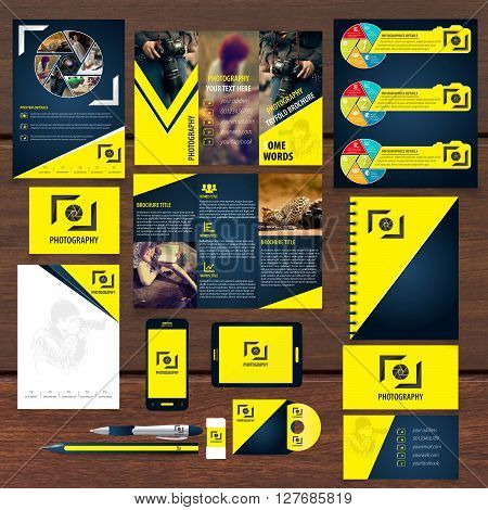 photography identity package 100% vector can re editable and re sizable