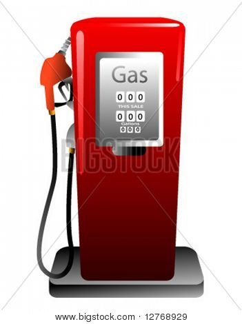 Gasoline pump - Vector