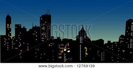 Urban Scene - Vector