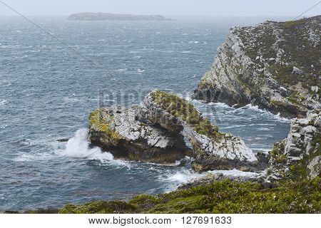 The North East coast of East Falkland, Falkland Islands (Islas Malvinas)
