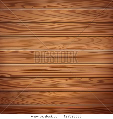 Realistic wooden texture . Vector wooden planks . Wooden surface . Wooden table . Wooden illustration . Wooden parquet . Wooden illustration . Wooden background .Abstract vector texture