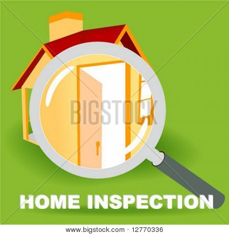 Home Inspection Icon - Vector