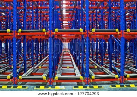 Warehouse storage shelving metal pallet racking systems