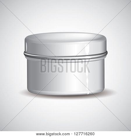 Customizable Cream Jar