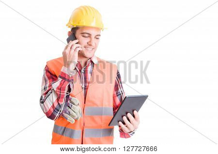Busy And Modern Constructor Or Builder