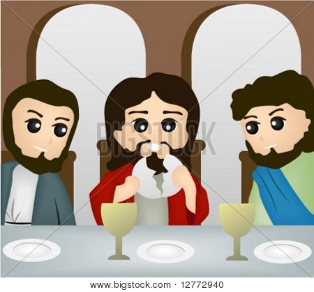 The Last Supper - Vector